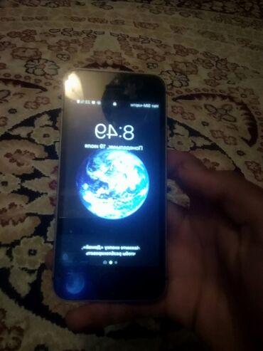 Электроника - Кемин: Айфон 5s минус нет /16гб /айклауд чист тач работает