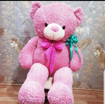 Teddy miska oyuncaq 1 metr boyunda miska