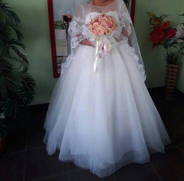 Продаю свадебное платье не дорого в Бишкек