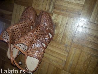 Beneton sandalice, broj 41, jednom nosene, stikla 10c - Beograd