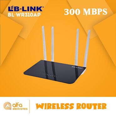 Lb-link BL-WR310Ap routeri 3 - ü birindədir. Həm router həm akses