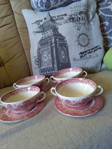 Engleski porculan cinije za supu ili sta god,prelepo,vredno,I kao novo - Sombor