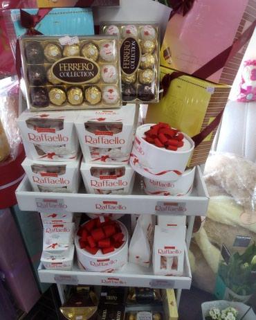 Рафаэлло оптом для оформления корзин для свадебных мероприятий в Бишкек