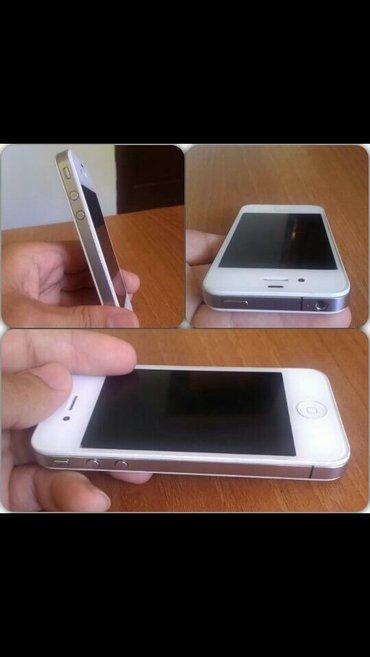 Bakı şəhərində 125azn -Iphone 4-yaddas 8gb -ios 7-whatsapda varam