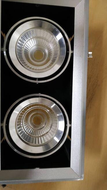 Освещение в Кыргызстан: Продам потолочные, врезные LED светильники. 1×2 . Мощность одного