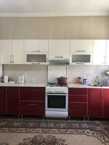 Мебель - Кыргызстан: Продаю кухонный гарнитур, в отличном состоянии . Длина одной