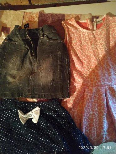 Haljinice za devojčice, sve za 400 din, očuvano, čisto i vrlo malo
