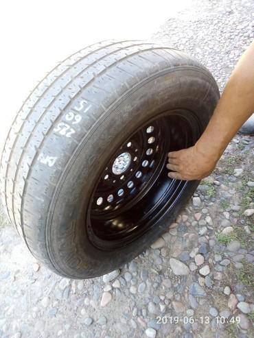 летние шины бу в Кыргызстан: Диска без шины,как запаска bmw. подойдёт от е28 до f10. пос.диаметр