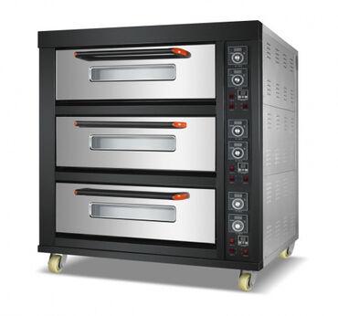 Техника для кухни - Кыргызстан: Печь подовая ярусная RoalBakery 36EГабариты:1450mmМощность: 19.8