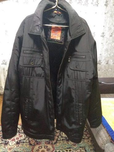 Продаю мужскую куртку зимнию одевали в Бишкек