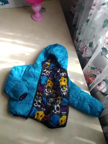 Куртка двухсторонняя на мальчика  на в Бишкек