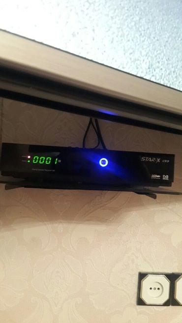 Ağdaş şəhərində Tüner Star x C99 HD, USB çıxışı var. Ntv + və YouTube yazmaq