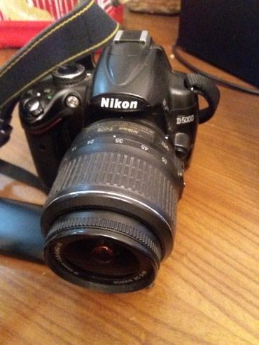 Продаю Nikon D 5000.  в комплекте есть: +зарядка; +штатиф: в Бишкек