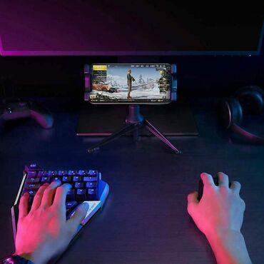 Klaviaturalar Bakıda: Telefonda oyun oynamaq üçün mouse və klaviatura