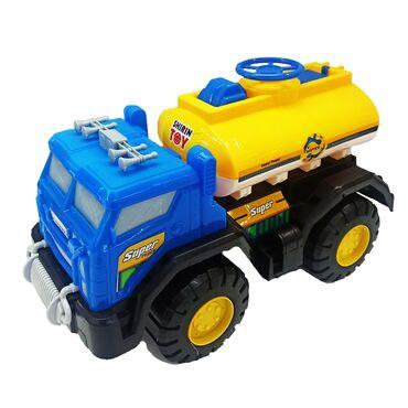 Грузовик водовоз игрушка.Нравится ребенку большой