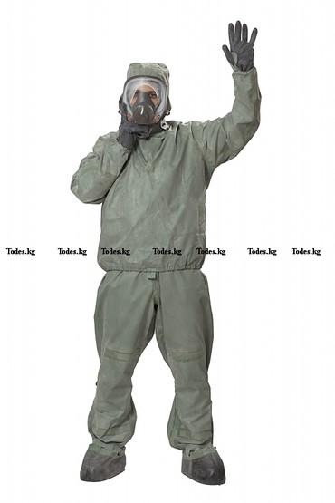 щиток защитный лицевой визион в Кыргызстан: Защитный костюм Л-1 (ОЗК) (спецодежда, рабочая одежда) Состоит из