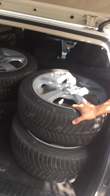 шины и диски в Кыргызстан: Продаю диски с шинами r17
