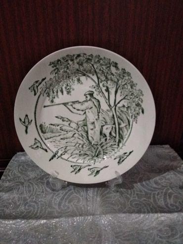 Декоративная тарелка Охота. в Бишкек