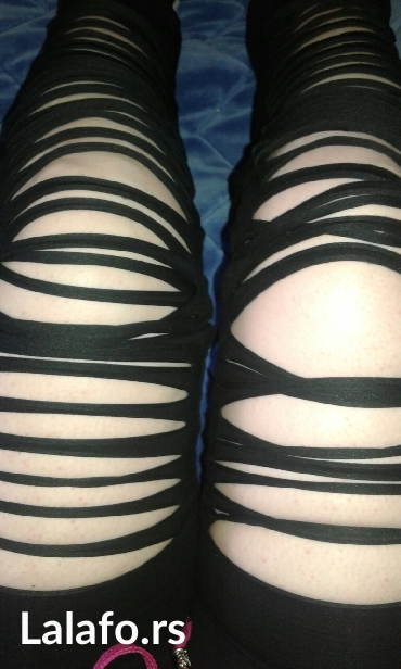 Pantalone iscepane napred univerzalna velicina novo - Backa Palanka