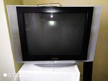 televizorlar - Azərbaycan: Televizor Samsung . İşlək vəziyyətdədir . Tək problemi sağ sol ekranda
