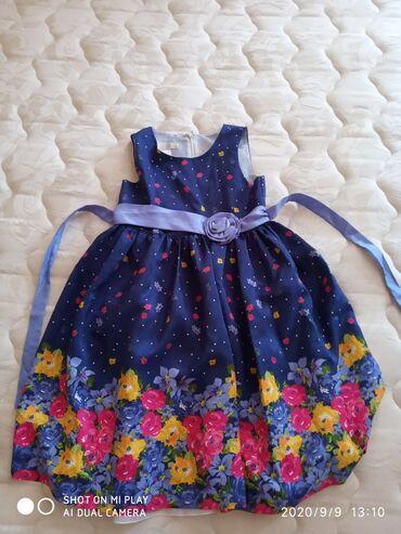 детский платья новый в Азербайджан: Детское платье на 4-5-6-7 лет