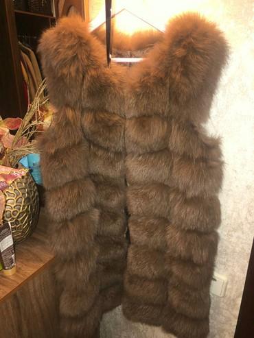 жилетка натуральный мех в Кыргызстан: Мех натуральный, состояние идеальное