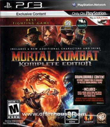 """Bakı şəhərində """"mortal kombat 9"""" игра для ps3"""