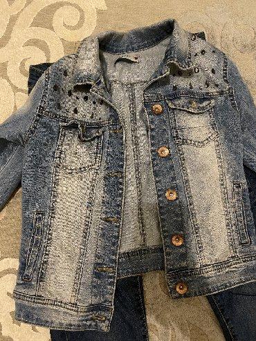 джинсова курточка в Кыргызстан: Джинсовая курточка размер S-M