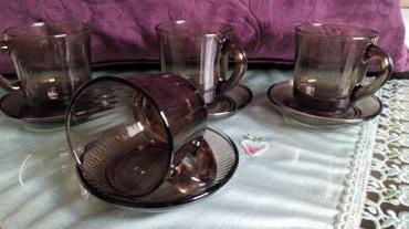 Vatrostalne soljice za kafu,nove..komplet od - Kraljevo
