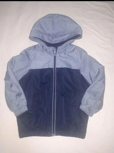 Куртка (внутрен.флиз.подклад)на мальчика 3-4 лет б/у