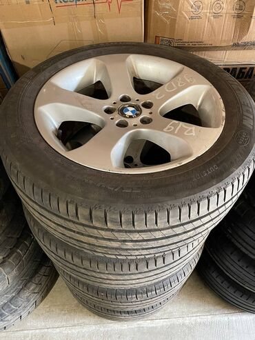 Колеса в сборе от BMW x5 e53 R19 132 стиль,резина состояние новой