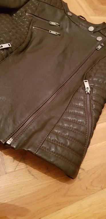 Kozna jakna Mona vel 36 Braon boja. u extra stanju. placena 27000