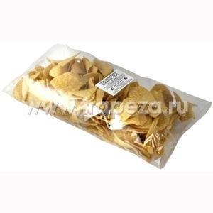 Чипсы кукурузные «Начос» сыр, пакет, 500г. Расфасованы в коробки (10