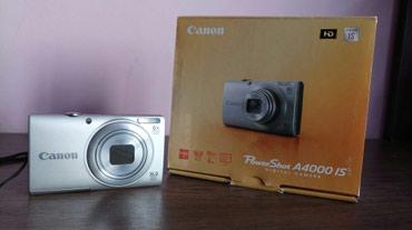 Цифровой фотоаппарат Canon PowerShot A4000 IS в Бишкек
