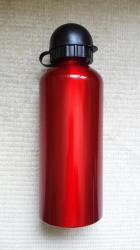 Aluminijumska sportska boca, crvena 0,6l vrlo praktična
