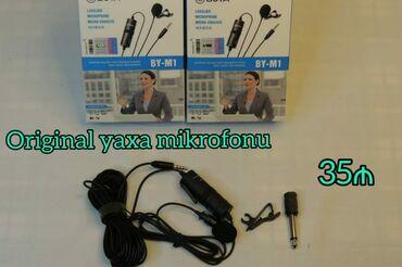 Yeni Model Orginal Yaxa Mikrafonu.100%Orginal Və Keyfiyyətlidir.Əla