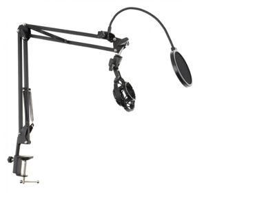 студийный микрофон бишкек in Кыргызстан   СТУДИЙНЫЕ МИКРОФОНЫ: Пантограф bobbystudio hyper-md33 настольная микрофонная стойка -