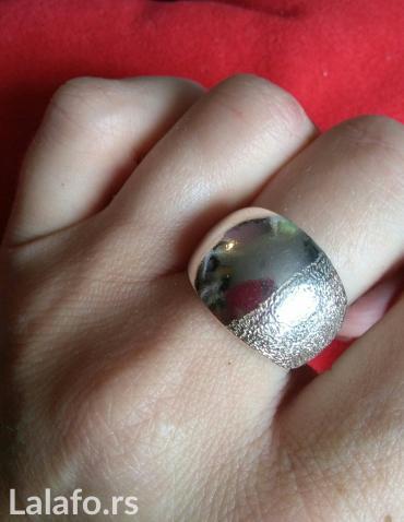 Srebrni prsten 19 mm unutrasnji precnik( nenošen nov) - Kragujevac