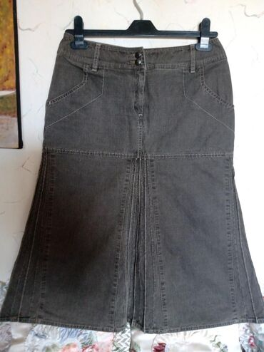 Suknja nova zenska,teksas. obiđ struka do. 75cm. duz. 68cm
