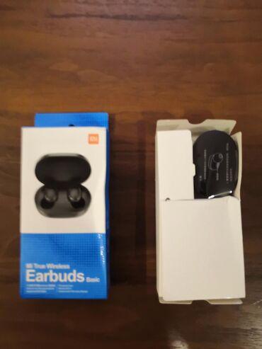Usaq rezin bosonojkalari - Azərbaycan: Qulaqlıq Mi True Wireless Earbuds Basic, Original Xiaomi Airdots