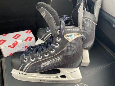 Спорт и хобби - Бишкек: Продаю коньки хоккейные детские