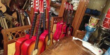 İdman və hobbi İmişlida: Klassik simli teze pakofqada gitaralar