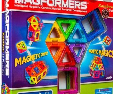 Магнитный конструктор для развития логического мышления.40