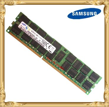 SAMSUNG 16GB DDR3 RAM. 2Rx4 PC3L 10600. Qutudadir.Metrodaxili