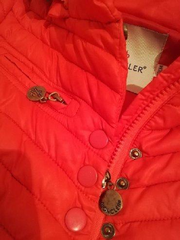 Курточка для маленькой принцессы, Турция, фирма MONCLER, возраст