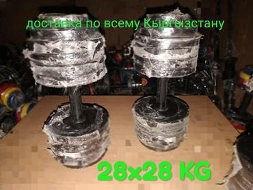 спортивные диски в Кыргызстан: Гантели разборные любых весов в наличии! Спортивный магазин от 0,5 до