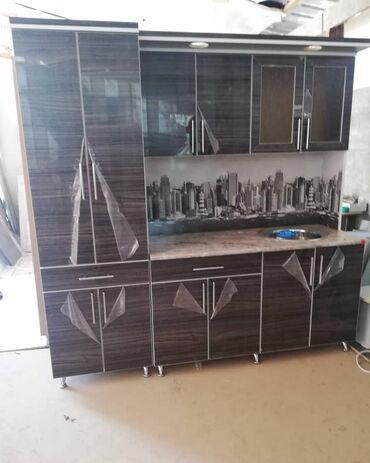 Готовые кухни 2 метр акрил глянцевая с доставкой по городу) Кухня на з