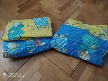 Kuća i bašta - Vrsac: Na prodaju dve posteljine jastucnica 80x80 i jorganska navlaka 140x200