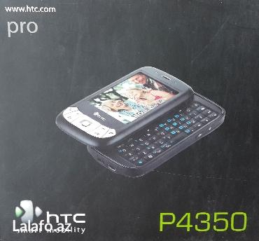Simbian-smartfon işlənmiş htc-p4350 mobil telefonu. Telefon tam işlək