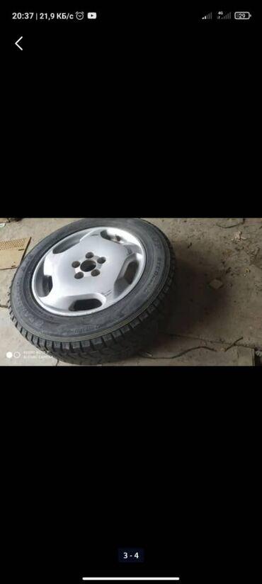225 70 17 летние шины в Кыргызстан: Продаю диски на Одиссей абсолют с зимними шинами 225/60 R17